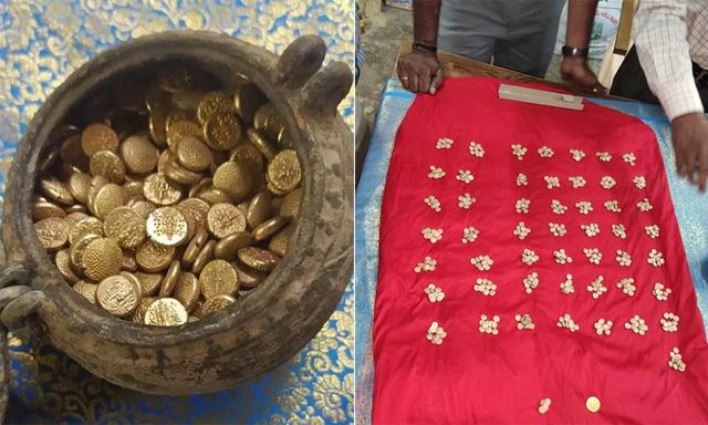 Phát hiện hũ tiền vàng hơn nghìn năm tuổi chôn bí mật trong đền nổi tiếng - 1