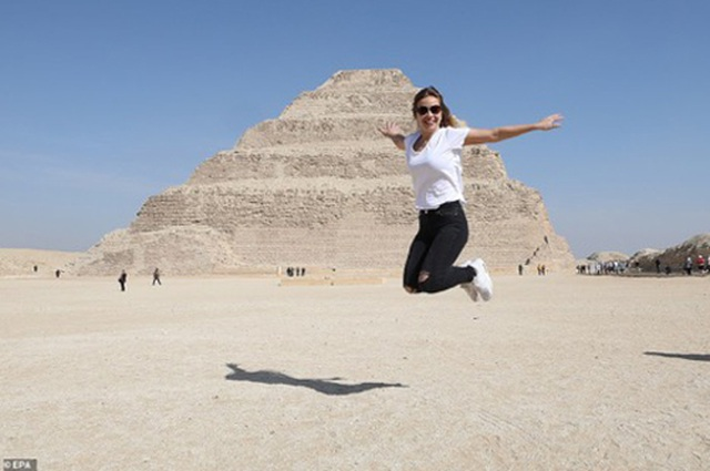 Ai Cập: Kim tự tháp nổi tiếng mở cửa trở lại sau 90 năm - 4
