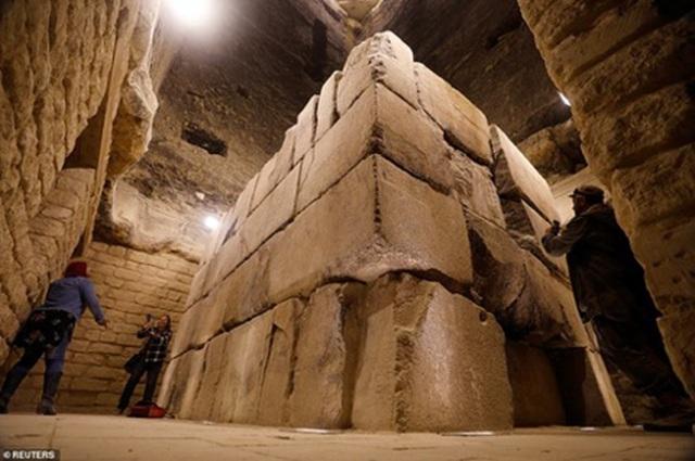 Ai Cập: Kim tự tháp nổi tiếng mở cửa trở lại sau 90 năm - 5