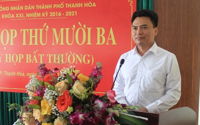 Thành phố Thanh Hóa có tân Chủ tịch UBND - 1