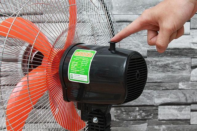 Bật số to tiết kiệm điện và những sai lầm khi dùng quạt mùa nóng - 3
