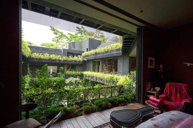 """Sửng sốt với """"khu vườn nhiệt đới"""" ngay trên nóc nhà biệt thự ở Singapore - 7"""
