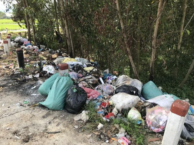 Con đường rác ở huyện nông thôn mới duy nhất của Quảng Ngãi - 2