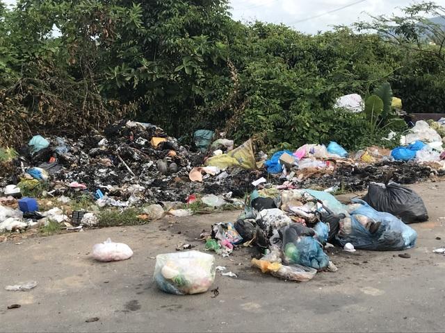 Con đường rác ở huyện nông thôn mới duy nhất của Quảng Ngãi - 4
