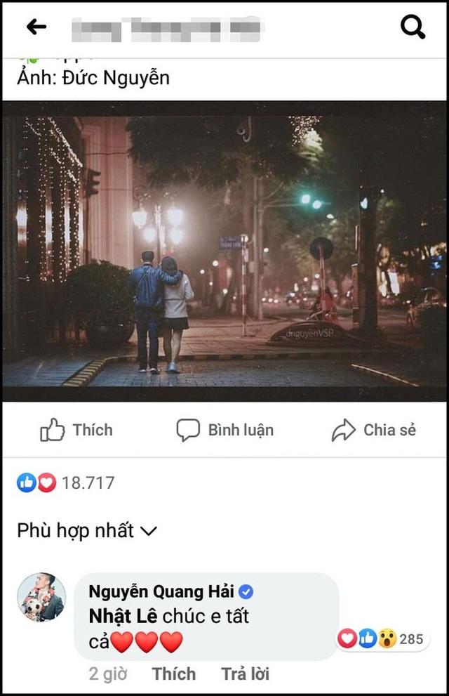 Tam giác Quang Hải - Nhật Lê - Hưng Harry khiến fans tò mò  - 1
