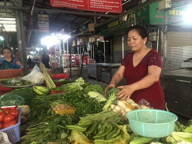 Rau củ trái cây Trung Quốc đã về lại chợ đầu mối - 1