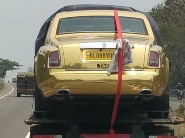 Kỳ lạ xe Rolls-Royce chạy taxi ở Ấn Độ - 3