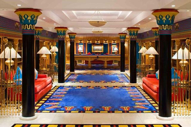 Choáng ngợp khách sạn 7 sao dát vàng 24k xa xỉ bậc nhất ở Dubai - 3