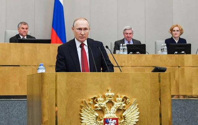 Ông Putin không phản đối khả năng tái tranh cử tổng thống năm 2024 - 1
