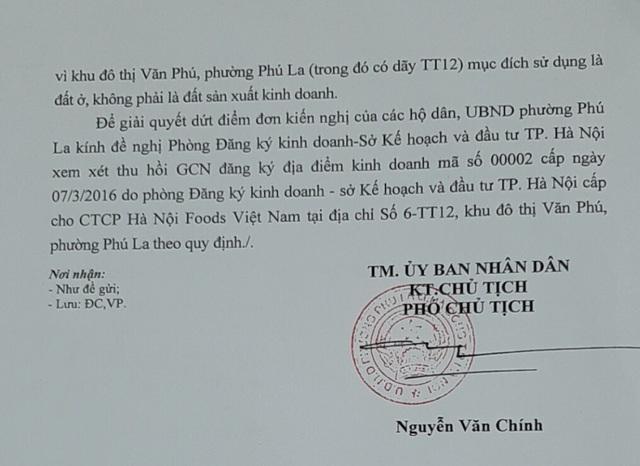 """Hà Nội: Chính quyền phẫn nộ với doanh nghiệp """"hành"""" dân khốn khổ - 4"""