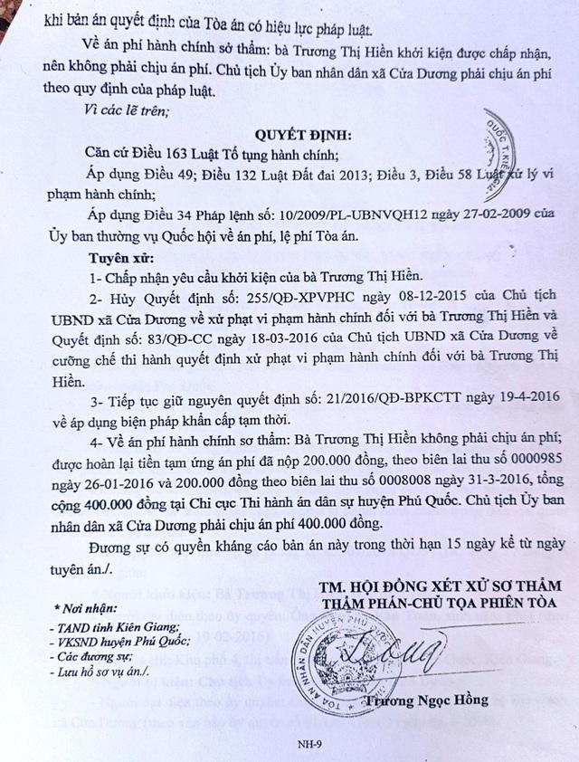 Kiên Giang: Không có cơ sở để buộc người dân đập nhà, trả đất! - 3