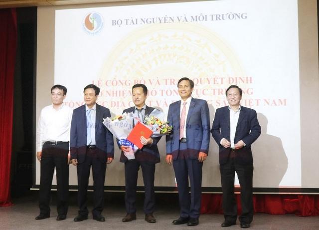Ông Lê Quốc Hùng làm Phó tổng cục trưởng Tổng cục Địa chất và Khoáng sản