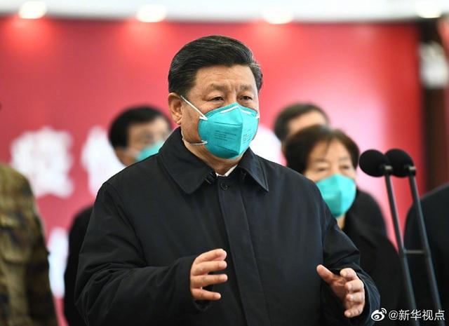 Ông Tập Cận Bình thăm bệnh viện dã chiến, khu dân cư ở Vũ Hán - 5