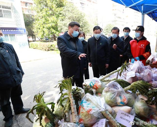 Ông Tập Cận Bình thăm bệnh viện dã chiến, khu dân cư ở Vũ Hán - 11