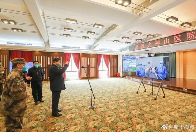 Ông Tập Cận Bình thăm bệnh viện dã chiến, khu dân cư ở Vũ Hán - 1