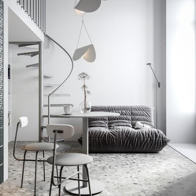 Nội thất cho căn hộ 25 mét vuông càng tối giản càng tốt - 7