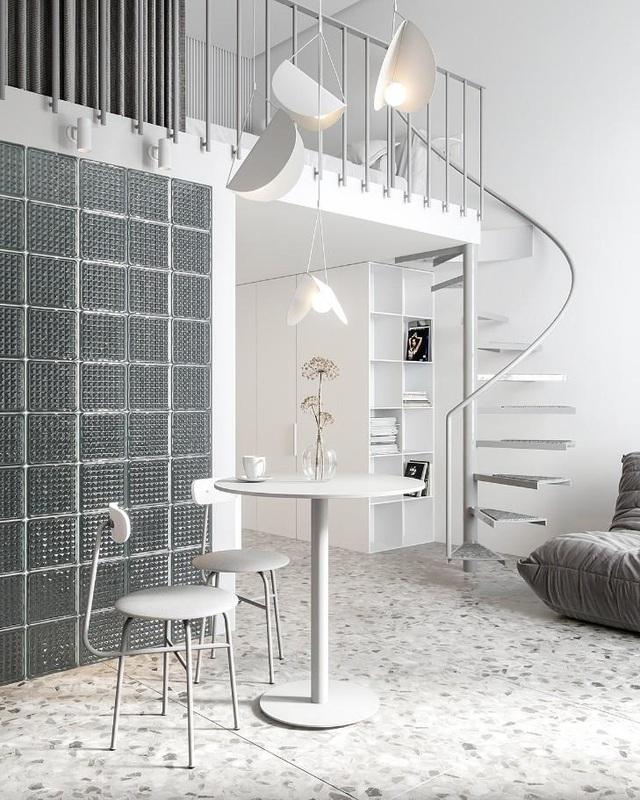 Nội thất cho căn hộ 25 mét vuông càng tối giản càng tốt - 1