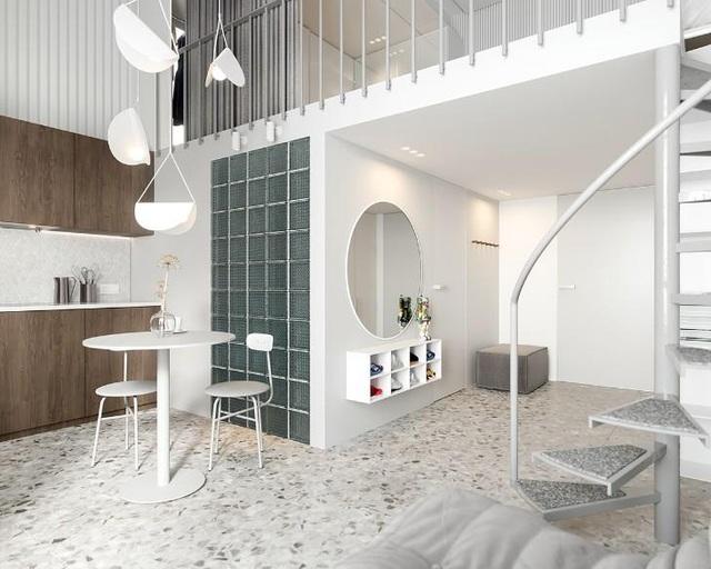 Nội thất cho căn hộ 25 mét vuông càng tối giản càng tốt - 5