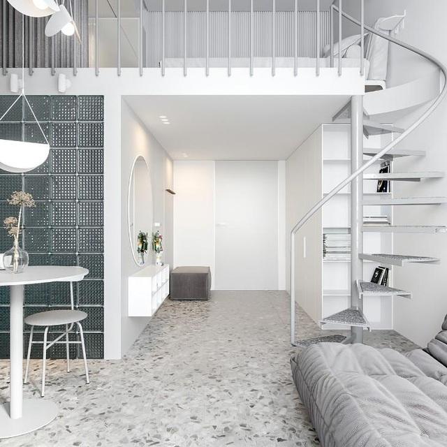 Nội thất cho căn hộ 25 mét vuông càng tối giản càng tốt - 6