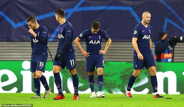 Leipzig 3-0 Tottenham: Thất bại toàn diện - 2