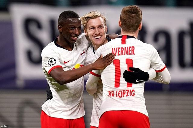 Leipzig 3-0 Tottenham: Thất bại toàn diện - 4