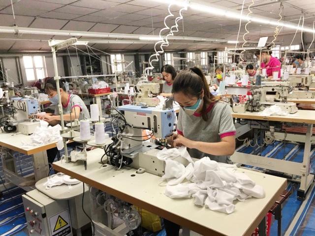 May Sông Hồng tung ra thị trường hàng triệu khẩu trang kháng khuẩn - 1