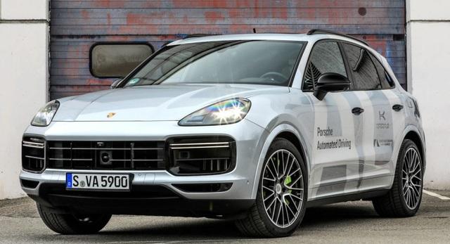 Porsche dùng công nghệ tự lái để tăng hiệu quả trong sản xuất - 1