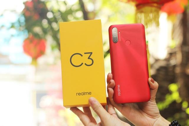 Realme C3: Pin lớn, hiệu năng tốt trong tầm giá 3 triệu - 1