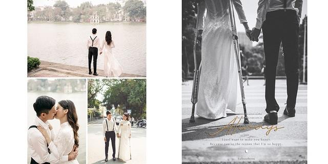 Tình yêu cổ tích của cặp đôi - 2 người chỉ có 2 chân - 13