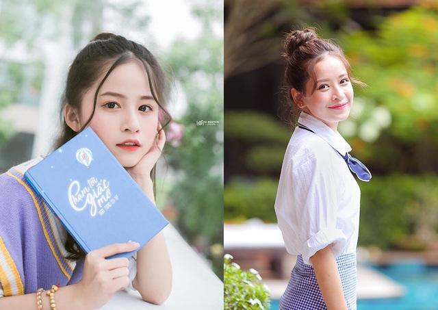 Nữ sinh xinh đẹp gây chú ý bởi nét mặt giống ca sĩ Chi Pu - 3