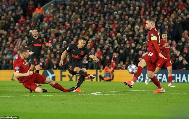 Những khoảnh khắc thất bại của Liverpool trước Atletico Madrid - 20