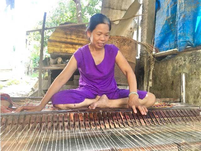 Đà Nẵng: Nghề dệt chiếu Cẩm Nê vang bóng có nguy cơ mai một - 3