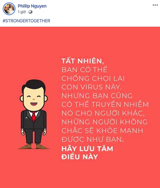 Anh trai rich kid Tiên Nguyễn tích cực tuyên truyền chống dịch Covid-19 - 3