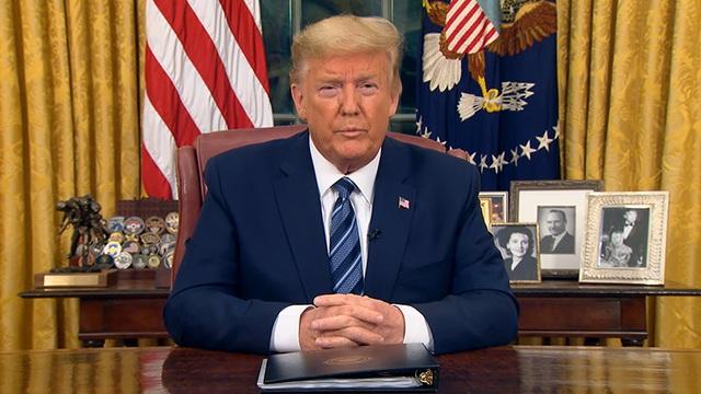 Ông Trump cấm đi lại giữa Mỹ và châu Âu vì dịch Covid-19 - 1