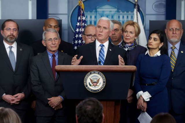 Phó Tổng thống Mỹ: Tâm dịch Covid-19 đã chuyển từ châu Á sang châu Âu - 1
