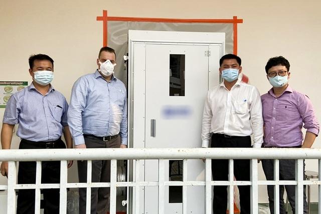 Hà Anh Tuấn tặng 3 phòng cách ly áp lực âm chống dịch Covid-19 - 6