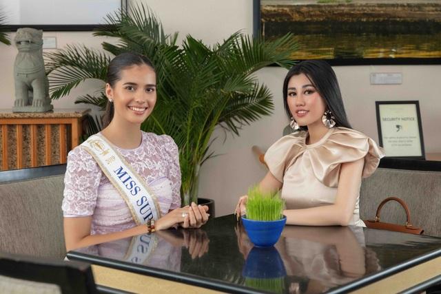 Hoa hậu siêu quốc gia ăn món ngon miền Tây cùng Emily Hồng Nhung - 1
