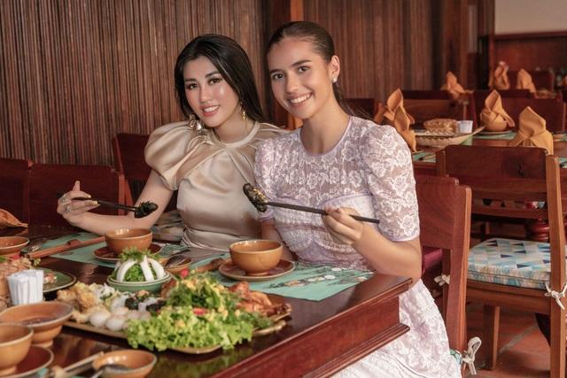 Hoa hậu siêu quốc gia ăn món ngon miền Tây cùng Emily Hồng Nhung - 6