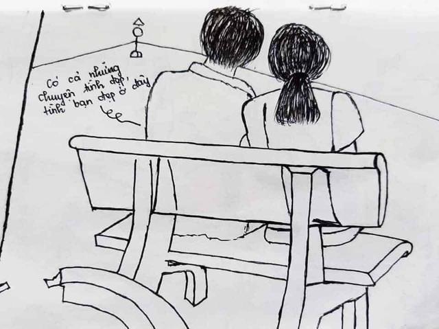Nhật ký bằng tranh độc đáo của du học sinh về khu cách ly ở Đà Nẵng - 10
