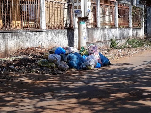 Đắk Lắk: Rác bủa vây trung tâm huyện, người dân bức xúc lên tiếng - 1