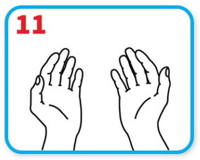 Bạn có chắc chắn mình đã rửa tay đúng cách? - 12