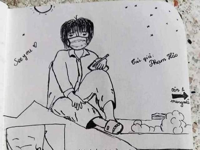 Nhật ký bằng tranh độc đáo của du học sinh về khu cách ly ở Đà Nẵng - 1