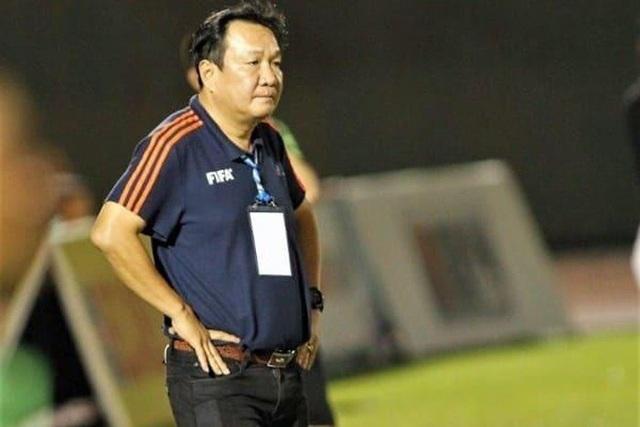HLV Hoàng Văn Phúc chia tay Sài Gòn FC - 1