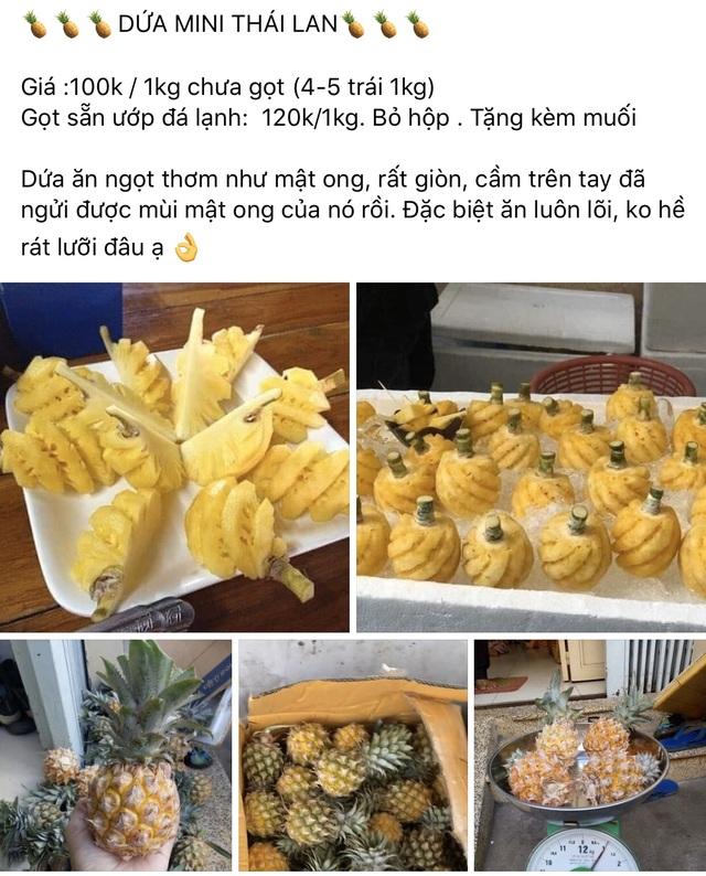 TPHCM: Dân sành ăn đổ xô mua dứa mini Thái giá cao - 2