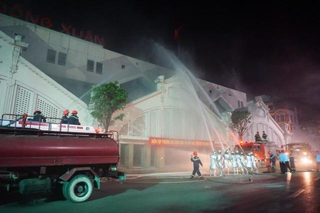 Nâng cao ý thức phòng cháy chữa cháy tại các chợ - 2