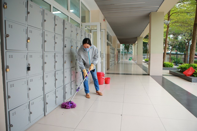 Hà Nội: Các trường triển khai dạy học online, tăng cường khử khuẩn mùa dịch - 5