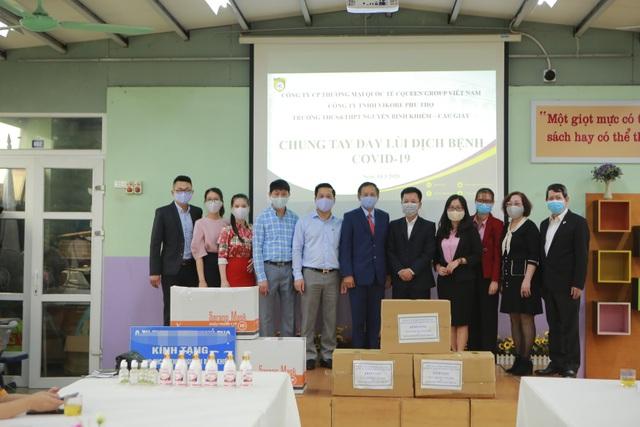Hà Nội: Các trường triển khai dạy học online, tăng cường khử khuẩn mùa dịch - 11