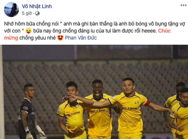 Cầu thủ Phan Văn Đức tặng bàn thắng cho vợ và con theo cách đặc biệt - 5