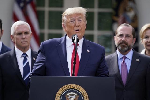Ông Trump ban bố tình trạng khẩn cấp quốc gia vì Covid-19 - 1