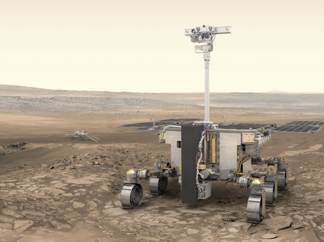 Hoãn phóng tàu vũ trụ ExoMars, virus corona có liên đới - 1